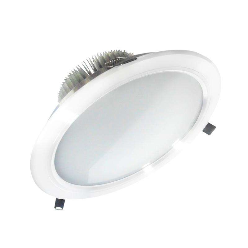 Downlight Led ARKAL 18W blanc, Blanc chaud